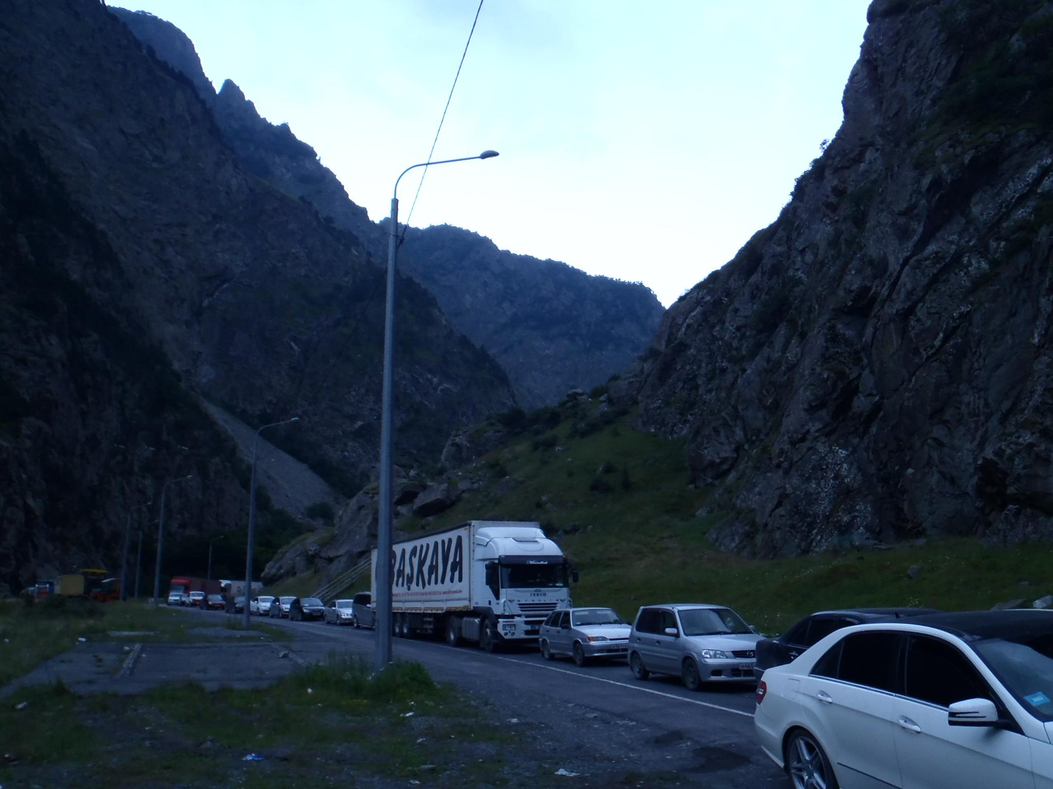 Грузинско - Руската граница
